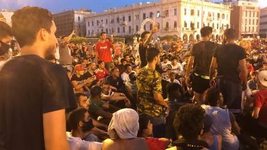 """صورة """"الوطنية لحقوق الإنسان"""" تطالب """"الوفاق"""" بإطلاق سراح المتظاهرين"""
