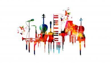 صورة عودة بالذاكرةلأجمل أغاني العيد بمكتبةالموسيقى العربية