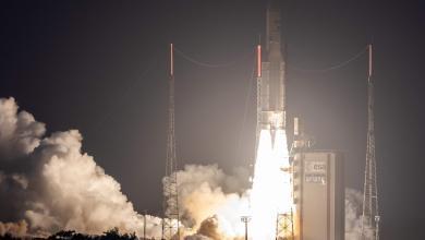 صورة شركة فرنسية تطلق 3 أقمار صناعية للفضاء