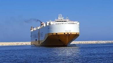 Photo of ميناء بنغازي يستقبل 700 سيارة وشاحنة قادمة من ألمانيا