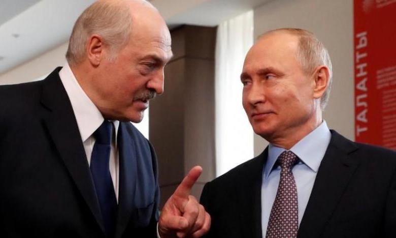 """صورة بيلاروس تشكر """"الاستخبارات الروسية"""" على """"معلومات مهمة"""""""