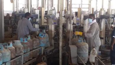 Photo of إعادة تشغيل وحدة تعبئة الغاز بمستودع سبها النفطي