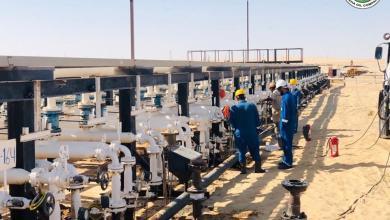 صورة إنشاء مشروع لتوفير الطاقة الكهربائية لحقل البيضاء