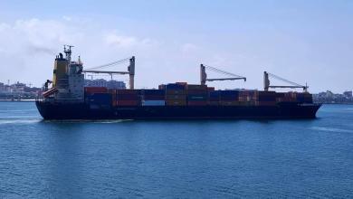 صورة ميناء طرابلس يستقبل حاويات سلع وبضائع