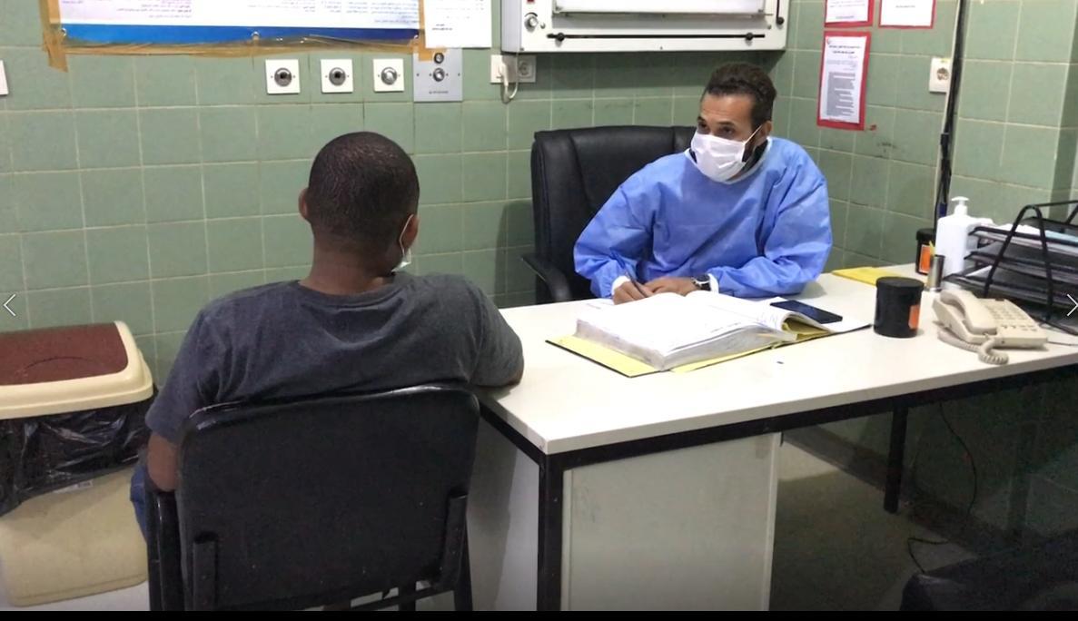 عمل متواصل لقسم الطوارئ بمستشفى غدامس