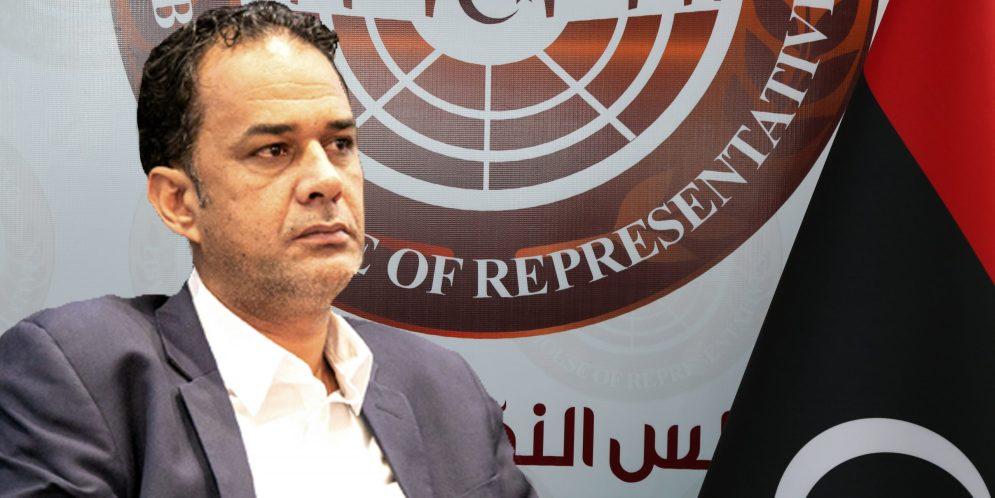 عيسى العريبي - رئيس لجنة الطاقة النائب في البرلمان الليبي