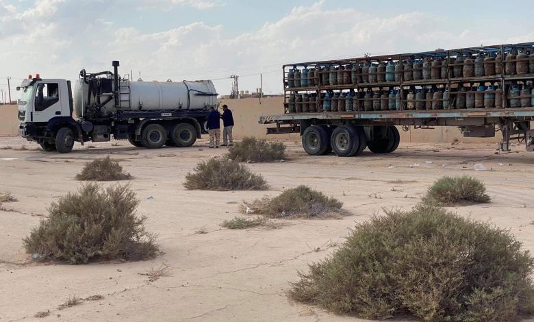 Photo of إجراءات احترازية تُرافق توزيع الغاز في بني وليد