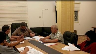 Photo of مجلس إدارة الأخضر يعقد اجتماعه العادي