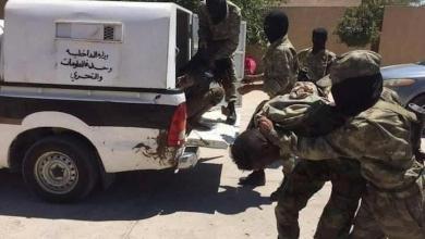 صورة داخلية الوفاق توقف مرتزقة تشاديين بين صفوف المنطقة العسكرية الغربية