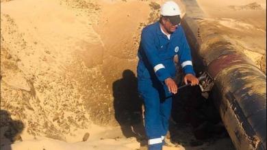 Photo of الواحة تعزز بنيتها التحتية بصيانة خطوط نقل النفط الخام