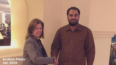 صورة وليامز تتعهد بدعم مبادرة تأسيس مجلس بلديات فزان