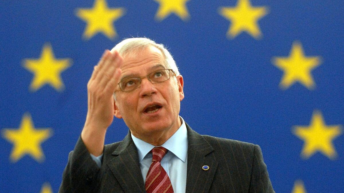 """وزير خارجية الاتحاد الأوروربي ، جوزيب بوريل -"""" أرشيفية"""""""
