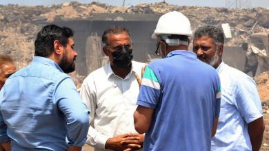 Photo of العبدلي يتفقد محطة كهرباء جنوب طرابلس الغازية