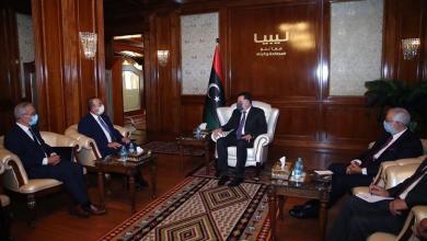 صورة السراج يستقبل وزير الخارجية المالطي