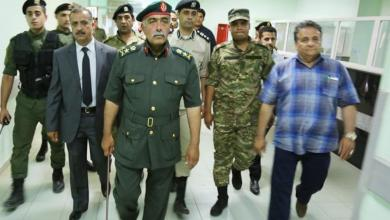 صورة الناظوري وعقوب يتفقدان مستشفى المرج في زيارة مفاجئة