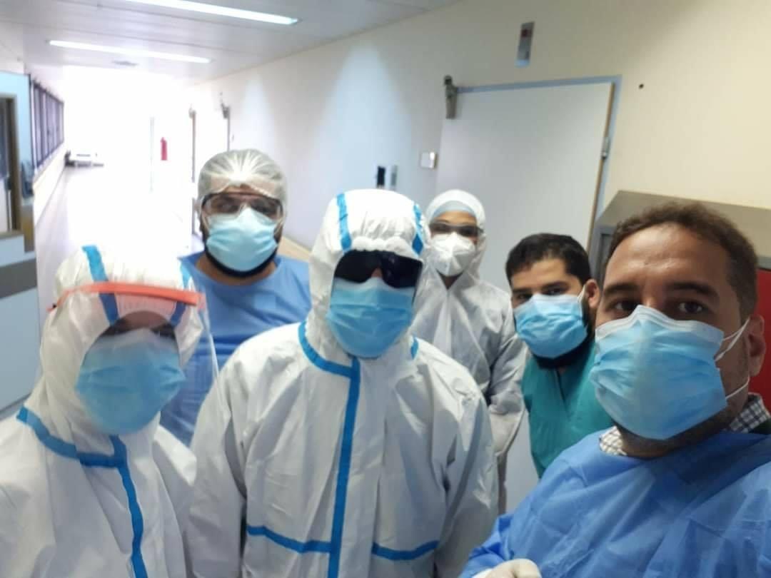 الفرطاس: 13 حالة مصابة بكورونا تحت التنفس الاصطناعي ببرج الأمل بمركز بنغازي الطبي