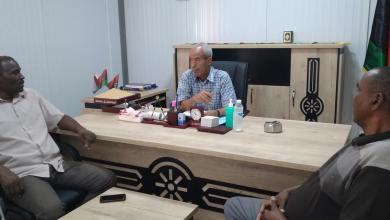 صورة المجلس المحلي تاورغاء يباشر أعماله من المدينة