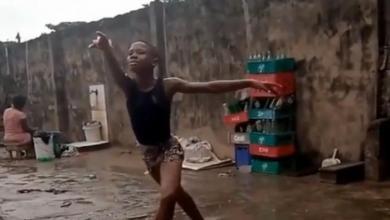 صورة مقطع فيديو يحقق حلم فتى الباليه النيجيري