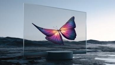 صورة شاومي تطلق أول شاشة شفافة في العالم