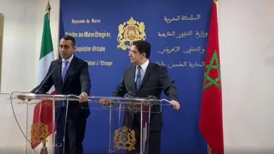 Photo of دي مايو يعرب عن تقديره لجهود المملكة المغربية لحل الأزمة الليبية