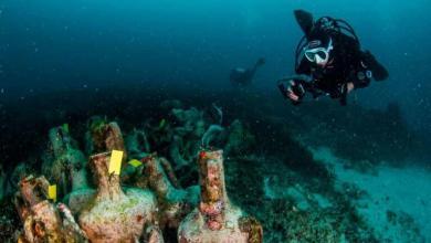 صورة اليونان تفتتح أول متحف تحت الماء في العالم (فيديو)