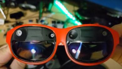 صورة بعدسة تعتيم وهيكل أنيق..Nreal تُنافِسُ بنظارة واقع افتراضي