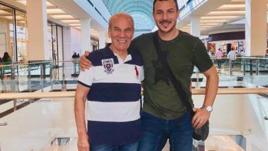 """Photo of باسل خياط ينعي والده """"وداعًا لحنانك الأبدي"""""""