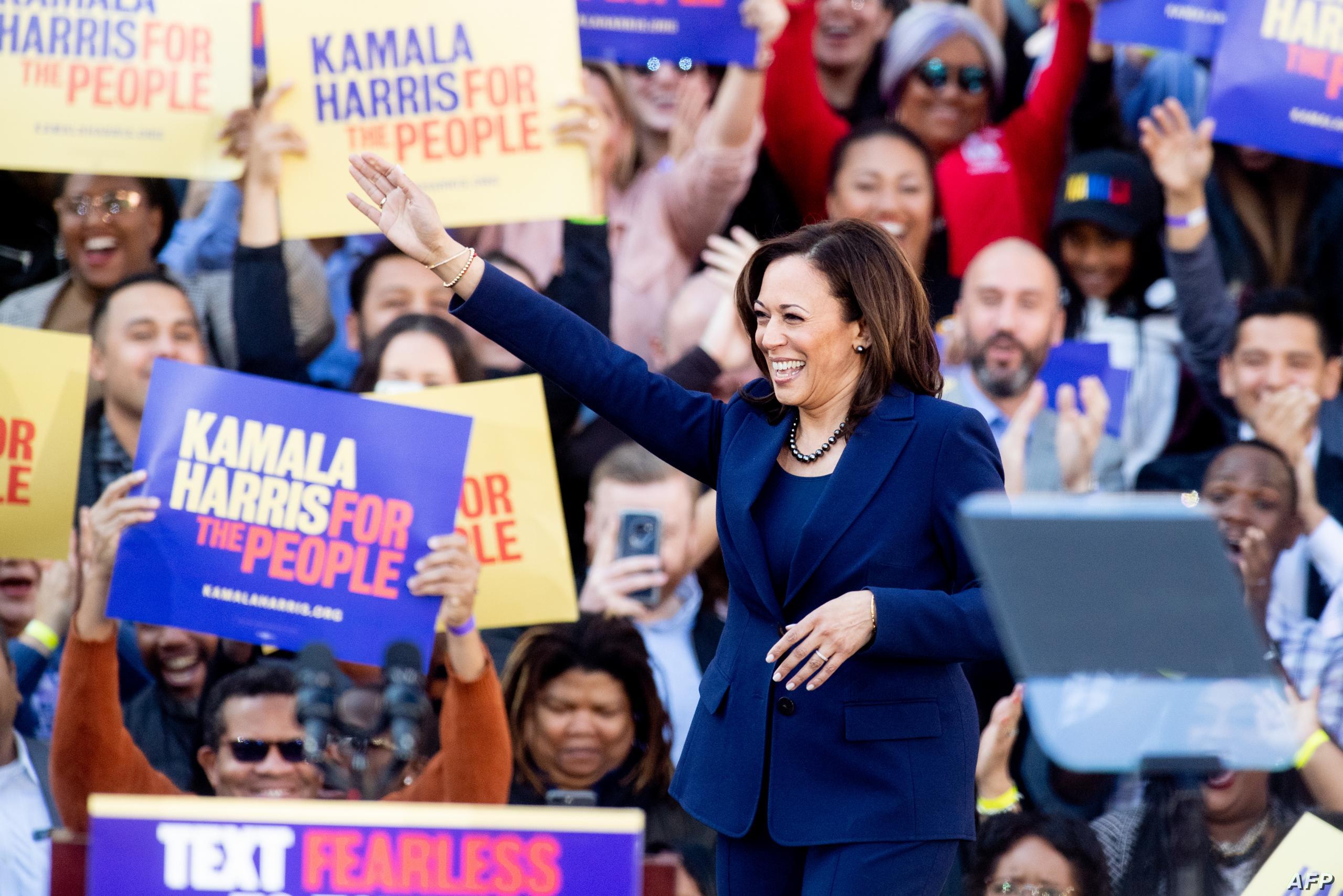 """السناتورة """"كامالا هاريس"""" يختارها """"جو بايدن"""" نائب رئيس في سباق الانتخابات الأميركية"""