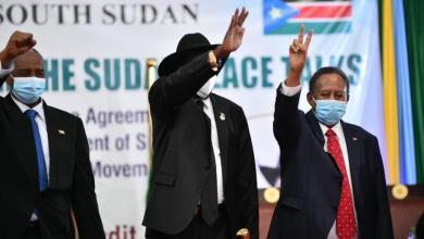 صورة اتفاق سلام تاريخي بين الحكومة السودانية والمتمردين