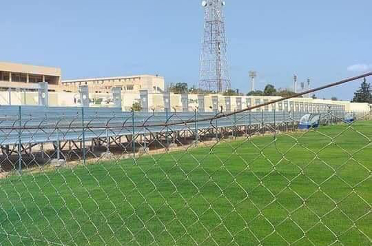 """Photo of """"الأهلي طرابلس"""" يضع اللمسات الأخيرة بملعب الهاشمي البهلول"""