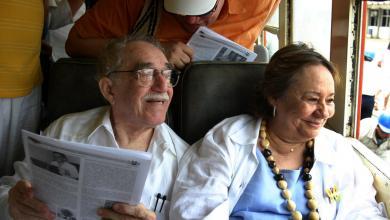 """وفاة """"مرسيدس بارشا"""" أرملة الروائي الكبير غابريال غارسيا ماركيز"""