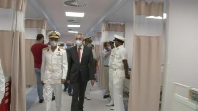 """صورة افتتاح مركز عزل طبي """"عائم"""" في طرابلس"""