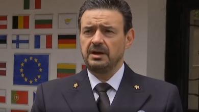 """صورة قائد """"إيريني"""" يبحث مع الناتو تطبيق حظر """"تسليح ليبيا"""""""