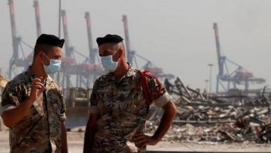 """صورة الجيش اللبناني يعثر على مفرقعات مُعلّبة في """"مرفأ بيروت"""""""