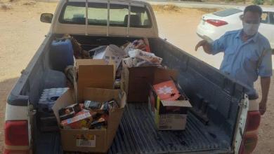 صورة بلدية نسمة تعلن إعدام كمية من المواد الغذائية منتهية الصلاحية