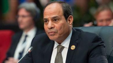 """صورة السيسي: مصر ستتدخل حال تجاوز خط """"سرت- الجفرة"""""""