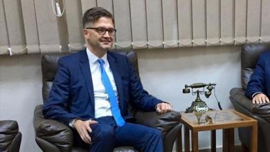 صورة سفير ألمانيا: نُقدّر رغبة السراج بتسليم مهامه