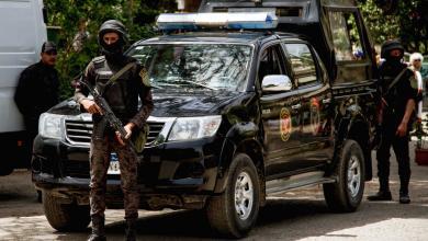 صورة الشرطة المصرية تقتل إرهابيين بمداهمة في القليوبية