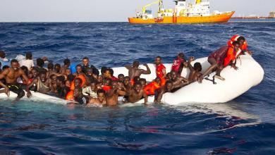 صورة البحرية الإسبانية تنقذ 58 مهاجرا قبالة جزر الكناري