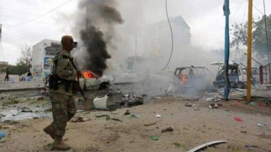 صورة مقتل 3 وإصابة ضابط أميركي بانفجار في الصومال