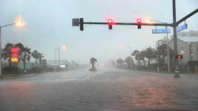"""صورة بعد أن خلّف مآسي في أميركا.. الإعصار سالي """"يتراجع"""""""