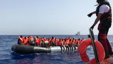 صورة بـ9 عمليات.. إنقاذ أكثر من 500 مهاجر قبالة سواحل ليبيا
