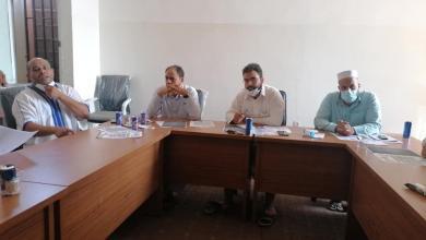 صورة بلدية نسمة تعقد اجتماعا لبحث الترتيبات الاحترازية في المدارس