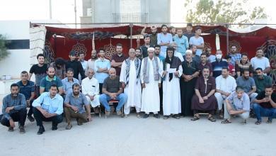 """صورة أهالي منطقة التميمي يطالبون """"ببلدية مستقلة"""""""