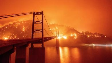 """صورة """"حرائق كاليفورنيا"""" تتسبب في مصرع 6 ضحايا"""