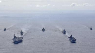 """صورة استفزازات """"أمريكية صينية"""" في مضيق تايوان.. حرب على الأبواب؟"""