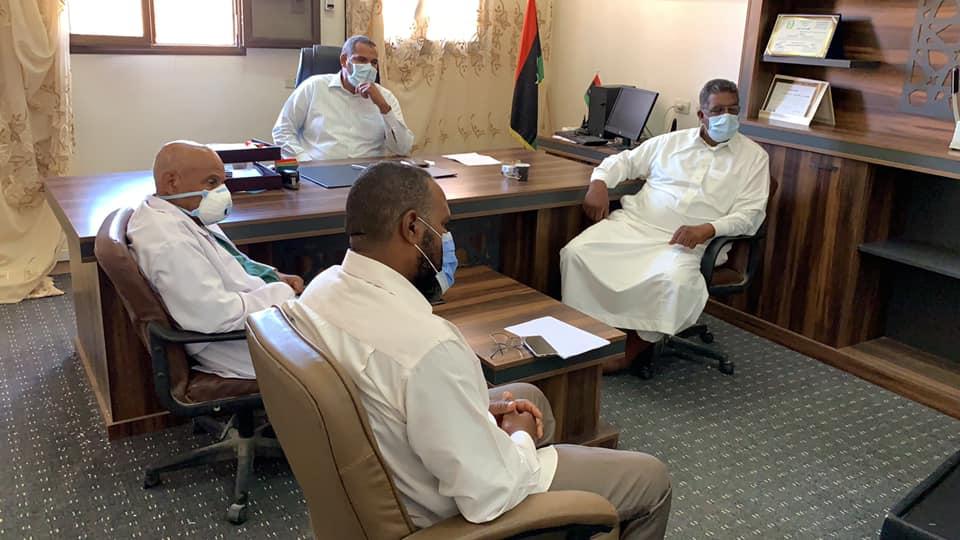 المجلس البلدي درج يعقد اجتماع تقييمي للوضع الوبائي