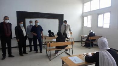 صورة وزارة التعليم تتابع سير العملية التعليمية في القبة
