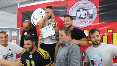 """صورة بنغازي تشهد اختتام مهرجان """"مخلوف"""" للقوة البدنية"""