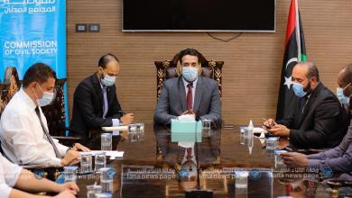 صورة لجنة انتخابات المجالس البلدية تعقد اجتماعها الأول في بنغازي